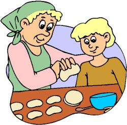 Rolls clipart baking bread