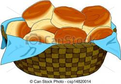 Rolls clipart bread basket