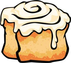 Rolls clipart cinnamon roll