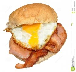 Bacon clipart egg roll
