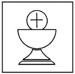 Wafer clipart eucharist