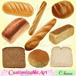 Rolls clipart french bread