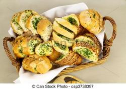 Bread Roll clipart garlic bread