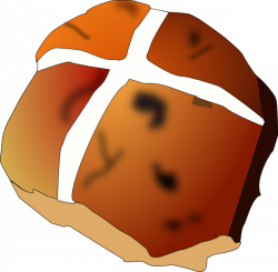 Rolls clipart hot cross buns