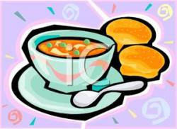 Bread Roll clipart soup bread