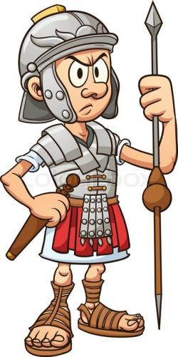 Roman Warriors clipart animated