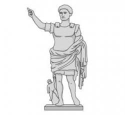Rome clipart augustus caesar