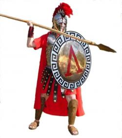 Roman Warriors clipart brave soldier