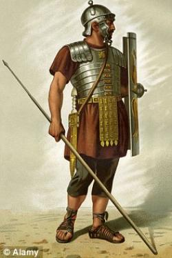 Roman Warriors clipart british history