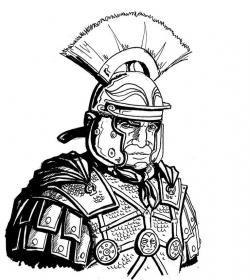 Achilles clipart roman army