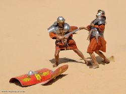 Roman Warriors clipart fighting