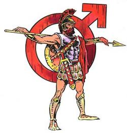 Roman Warriors clipart greek hero