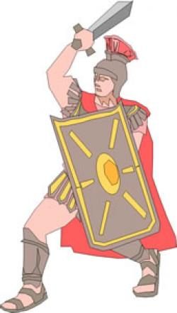 Roman Warriors clipart julius caesar