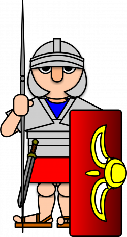 Roman Warriors clipart roman army