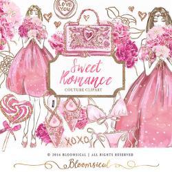 Romance clipart hand