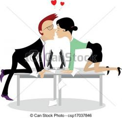Romance clipart office romance