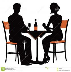 Date clipart romantic date