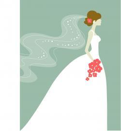 Wedding clipart bridal