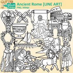 Rome clipart cart