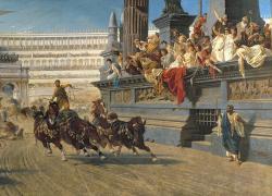 Colosseum clipart roman chariot
