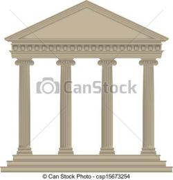 Columns clipart graphic