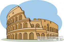 Colosseum clipart ancient rome