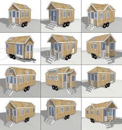 Bungalow clipart tiny house