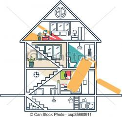Rooftop clipart house remodeling