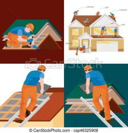 Rooftop clipart roof repair