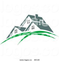 Company Logos clipart green roof