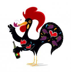 Rooster clipart portugal