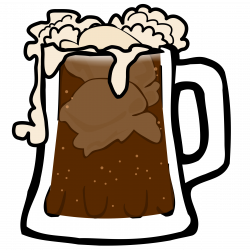 Drink clipart root beer