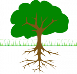 Roots clipart art