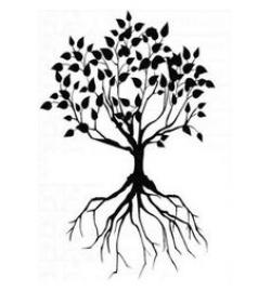 Roots clipart tree life
