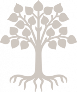 Roots clipart tree outline