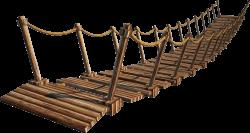 Rope Bridge clipart gap