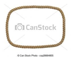 Rope clipart rectangle shape