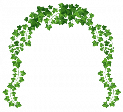 Rose Bush clipart arch