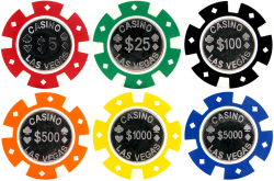 Roulette clipart casino chip