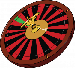 Roulette Wheel clipart