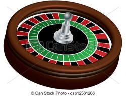 Roulette clipart