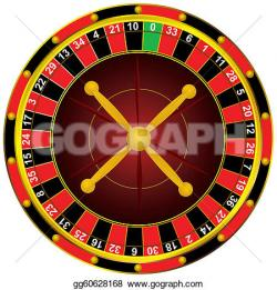 Roulette Wheel clipart casino