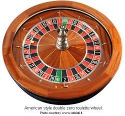 Roulette Wheel clipart double zero