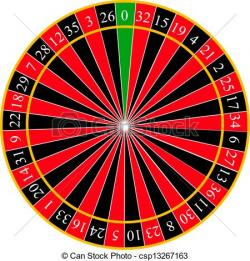 Roulette Wheel clipart european roulette