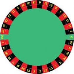 Roulette Wheel clipart poker