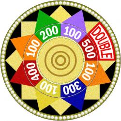 Roulette Wheel clipart spin