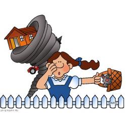 Wizard Of Oz clipart dorothy