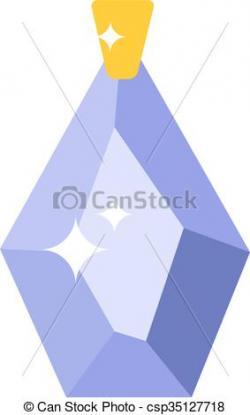 Crystal clipart shiny