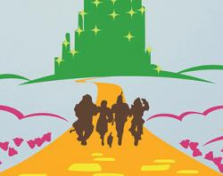 Wizard Of Oz clipart silhouette