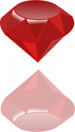 Ruby clipart gemstone